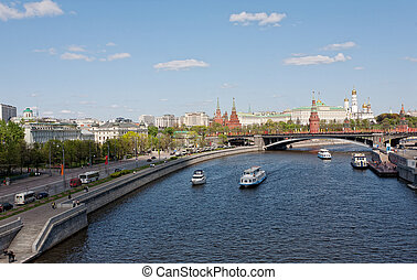Kind to the Moscow Kremlin, Grand Kremlin Palace, Cathedrals...
