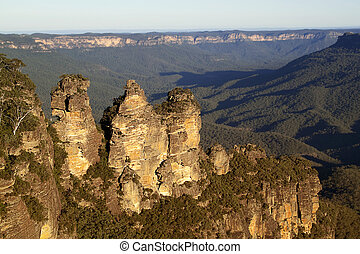 Three Sisters Valley - One of Australia's most famous...