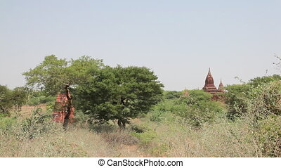 Pagoda in Bagan - Bagan, Myanmar