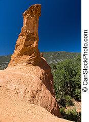 Sentiero delle Ocre Roussillon Provenza