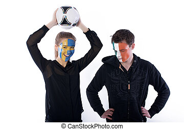 Football soccer fans - Picture of football soccer fans...