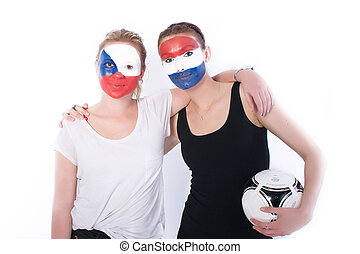 Football soccer fans