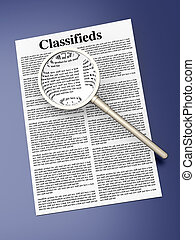 Searching the Classifieds