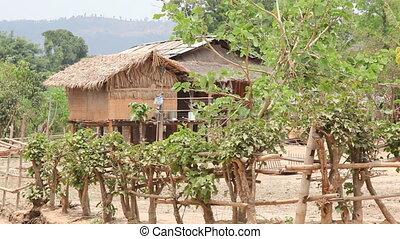 Samkar village, Myanmar