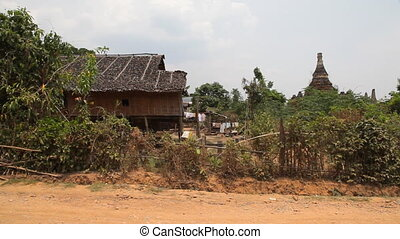 Samkar village, Myanmar - Inle lake, Myanmar