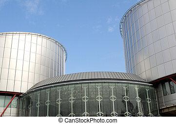 European Court of Human Rights (Palais des Droits de...