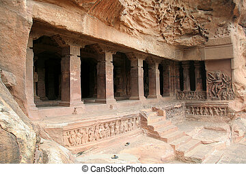 Rock-cut Cave - Monolithic first cave temple, dedicated to...