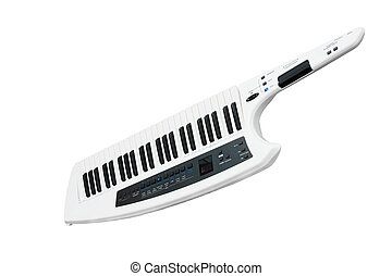 electronic synthesizer - The image of an electronic...
