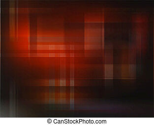 Red checks - Editable vector abstract pattern of red stripes...