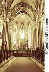 Inner City Parish Church in Budapest - Interior of Inner...