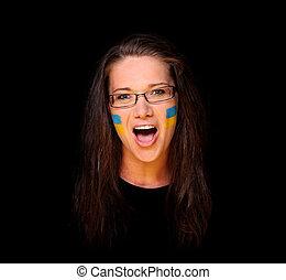 Ukrainian fan