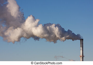 Air Pollution from an Industrial Plant