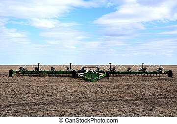 Farm Machinery on the Prairies