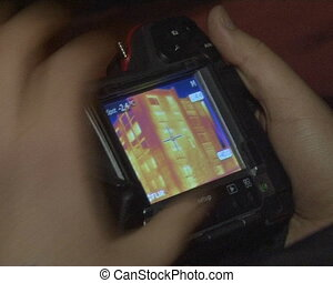 thermal measure house - thermal imagers measure old...