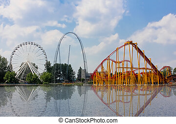 Attractions summer in Canada. - La Ronde is Eastern Canada?s...