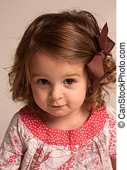 Portrait of Two Year Old