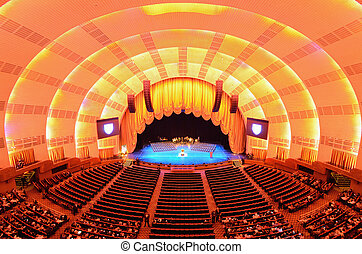 Radio City Music Hall - NEW YORK CITY - MAY 15: Radio City...