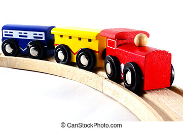 Locomotives and Rail Cars Toy - Locomotives and rail cars...