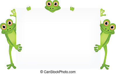 cartoon illustration of frog