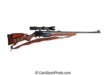 Hunting rifle - semiautomatic hunting rifle large-caliber...