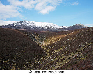 Cuidhe Crom, Cairngorms, Scotland. - Cuidhe Crom south east...