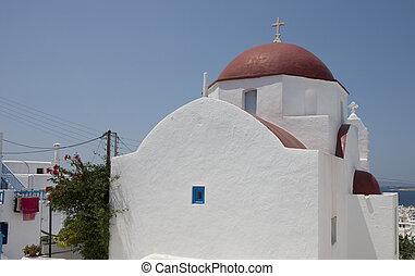 Church in Chora, Mykonos