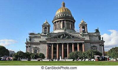 Isaac's Cathedral (Isaakievskiy Sobor), Saint Petersburg,...