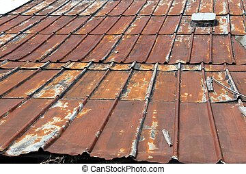 rusty roof texture