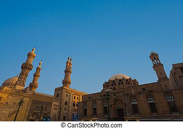 Al Azhar Madrasa Mosque University Cairo - Al Azhar Mosque...