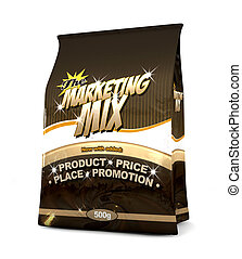 The Marketing Mix - The Four P's - A literal refernce od a...