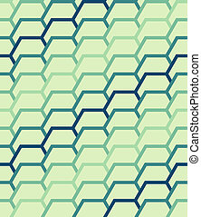 Seamless geometric hexagon patterns - Seamless geometric...
