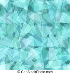 Blue geometric seamless pattern Vector illustration