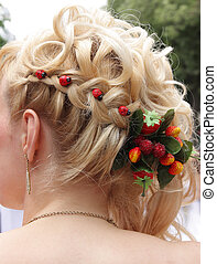 hair dress - romantic hair dress