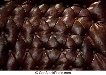 Vintage Leather Counch Background