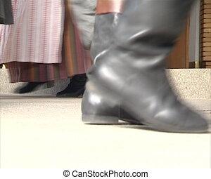 people legs dance folk