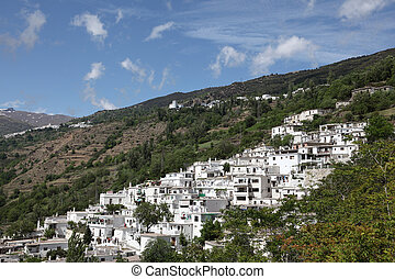 White Andalusian village Pampaneira in Spain