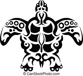 turtle tattoo - vector illustration of turtle tatto