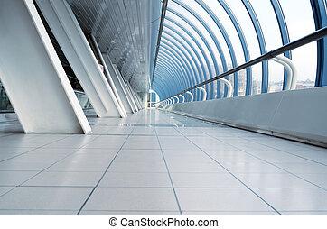 機場, 長, 走廊