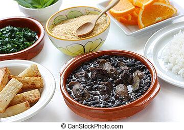 feijoada, Brasileiro, cozinha