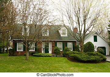 Executive colonial cottage - Two storey executive colonial...