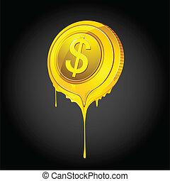 Melting Dollar