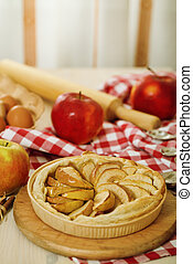 Freshly baked apple pie - Freshly baked homemade apple pie...
