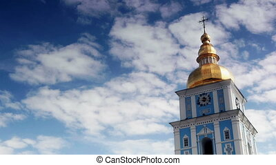 St Michaels Golden-Domed Monastery - St Michaels Monastery -...