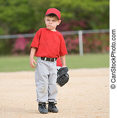 Little League Baseball Player - Little league baseball...