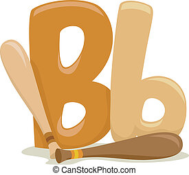 Letter - Illustration Featuring the Letter B