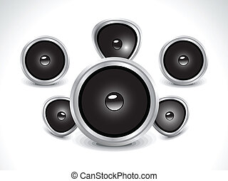 abstract sound icon