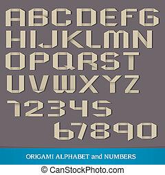 Origami Alphabet
