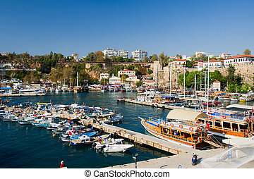 harbor in Antalya