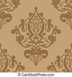 Vector beige wallpaper