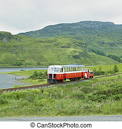 narrow gauge railway, Fintown, County Donegal, Ireland